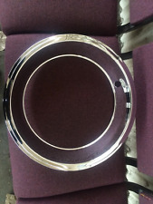 14x6 Chrome Over Stainless 2.25 Inch Trim Rings