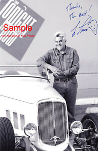 JAY LENO Signed Autographed Reprint 8x10 Photo