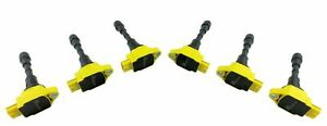 6 Ignition Coil Packs for 370Z EX37 FX37 FX50 G37 M37 Q40 Q60 Q70 Q70L QX50 QX70