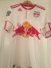 2011 MLS New York Red Bulls Replica Home Jersey Signed by Team