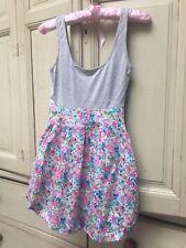 Top Shop Petite floral vest dress UK4