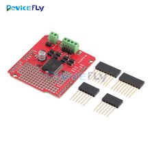 L298P Dual Channel Motor Driver Shield DC Stepper Driver Board For Arduino