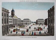 Ansichten & Landkarten aus Belgien mit Kupferstich