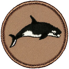 Cool Boy Scout Patch - Killer Whale Patrol! (#072)