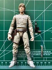 "Star Wars Black Series Luke Skywalker Bespin #11 6"" Loose Complete Hasbro TESB"