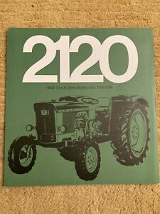John Deere 2120 Tractor Brochure Leaflet