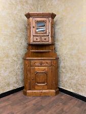 Voglauer Anno 1900 Corner Cottage Wardrobe Farmhouse Dresser Antique Style