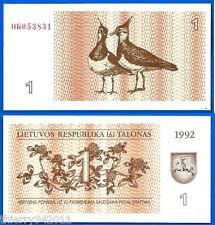 Lithuania 500 Talonas 1992 UNC Lituanie Litu Free Shipping Worldwide Skrill Ppal
