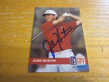 John Huston Autographed Signed 1992 Pro Set #60 Card PGA Golf