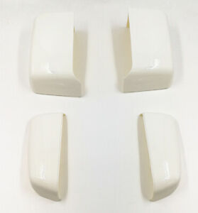 For 14-19 GM Silverado Painted White 8624 Tow Mirror Caps Cover OE Replacement
