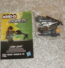 G.i. Joe Kreo LOW-LIGHT Figure New Misp Kreon Kre-o Micro Changers LOWLIGHT