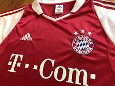 Vintage 2004 Adidas Bayern Munich Munchen Jersey Shirt Trikot Soccer Football L