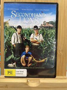 Secondhand Lions (2003) Rare Region 4 DVD Michael Caine, Robert Duvall