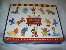 WILLIAMS SONOMA COPPER CIRCUS COOKIE CUTTERS IN BOX  NOT USED