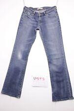 Levi's 572 (Code U598) Tg43 W29 L34 OURLET REFAIT jeans d'occassion bootcut