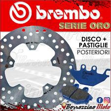 BREMBO 68B407M8 DISCO FRENO + PASTIGLIE POSTERIORI YAMAHA YZF R 125 2008 2016