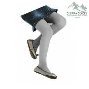 Micro 50 Plain school uniform Tight, Flat Knit year round Girls Tights