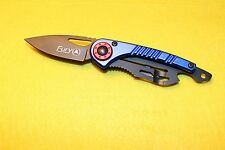 Knife Folding Knives Money Clip Survival Multi Tool New Small Pocket Fury