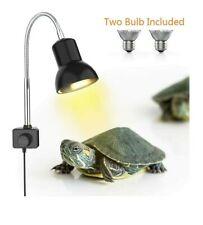 Dadypet 25W Reptile Heat Lamp, Clamp Lamp for Aquarium with Holder Uva Uvb Lamp