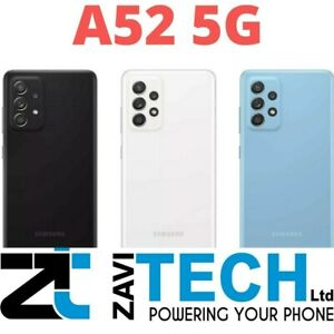 NEW SAMSUNG GALAXY A52 5G & A52S 5G UNLOCKED 6GB RAM 128GB BLACK VIOLET BLUE RED
