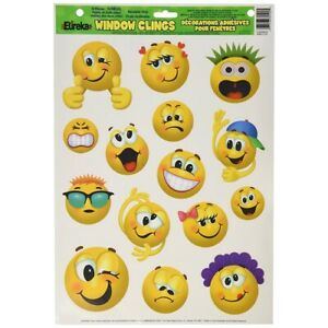 Emoticons Window Clings by Eureka