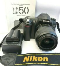 NIKON D50 SLR CAMERA WITH NIKON AF-S DX ED 18-55MM F3.5-5.5G LENS. (S/C 5111)
