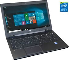 """HP ZBook 15 I7-4900MQ bis 3.8Ghz 20GB 240GB SSD 15,6"""" FullHD IPS Display DVD/RW"""
