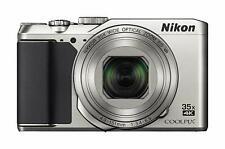Nikon DIGITAL CAMERA COOLPIX A900 Optical 35x zoom SILVER A900SL from japan
