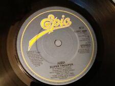 ABBA . SUPER TROUPER . ( U.K NUMBER 1 HIT )  1980