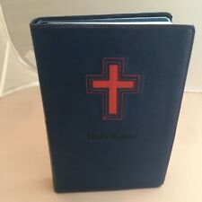 NIV Gift Bible for Kids - Dark Blue w Red Duo-Tone Leather Bound - Zondervan Boy