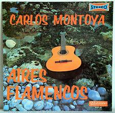 """12"""" Vinyl CARLOS MONTOYA - Aires Flamencos"""