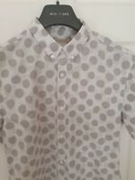 Mens chic BRIT by BURBERRY short sleeve size medium. Immaculate RRP £225.