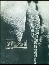 WITZEND Fanzine #5, OCTOBER 1968, WALLY WOOD, STERANKO, NM!