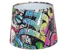 Graffiti Lampshade Ceiling Light Shade Boys Girls Skate Park Bedroom Lamp Shade