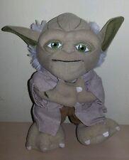 Peluche yoda star wars 20 cm guerre stellari idea regalo plush soft toys new