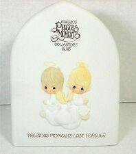 Precious Moments Collectors Club RARE Plaque 1981 Triangle Mark Rare