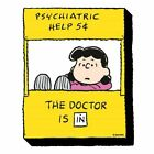 Funky Chunky Peanuts NEW * Lucy - 'The Doctor Is In' Magnet * Comics Licensed