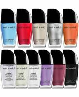 Wet N Wild Wild Shine Nail Color Polish - Choose Your Shade - Qty Discount!