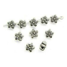10 Intercalaires spacer _ FLEUR 6,5mm _ Perles apprêts création bijoux _ A111
