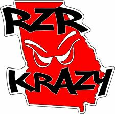 RZR Krazy Special Edition GA Decal, 6 x 6 Inches
