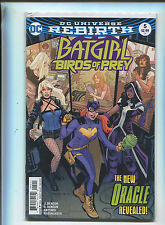 Batgirl-Birds Of Prey #5 NM Rebirth  The New Oracle Revealed DC Comics MD1