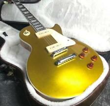 Gold Top LP Electric Guitar P90 Pickups Top Quality Stock