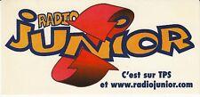 AUTOCOLLANT *RADIO JUNIOR*