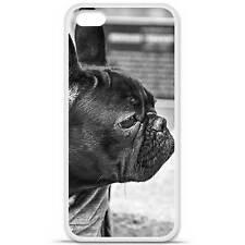 Coque housse étui tpu gel motif bulldog Iphone 5C