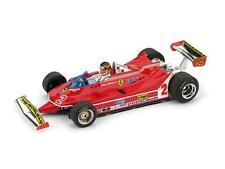 Ferrari 312 T5 GP Brasile 1980 Gilles Villeneuve #2+ Pilota Brumm 1:43 R575-CH M