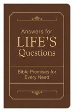 Answers for Life's Questions : Bible Promises for Every Need