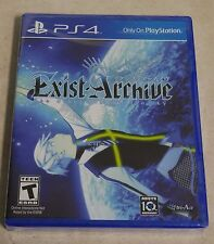 Exist Archive : The other side of the sky - PlayStation 4 - Brand New & Sealed !