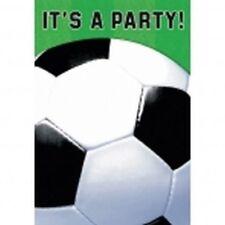 AMSCAN - Lot 8 Cartes invitation + enveloppes Football