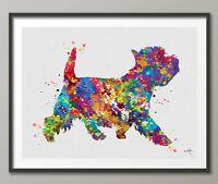 Westie Dog Watercolor Print West Highland Terrier Gift Pet Doglover Dogart-1601