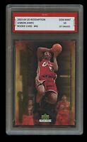 2003 LEBRON JAMES #46 UPPER DECK UD REDEMPTION 1ST GRADED 10 ROOKIE CARD LAKERS